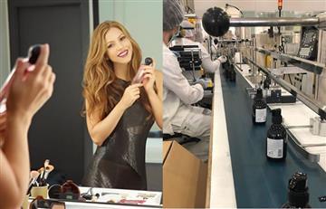 Empresa de perfumes de Shakira producirá antibacteriales