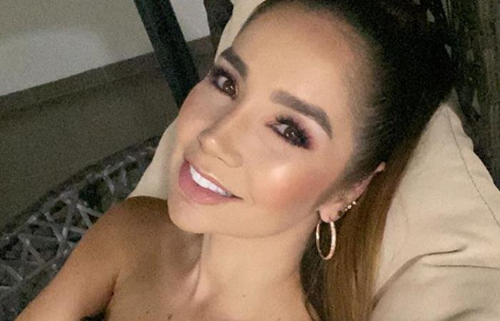 Paola Jara se mostró sin maquillaje ni extensiones