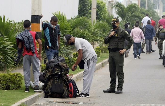 Familias venezolanos desalojo cuarentena coronavirus Bogotá