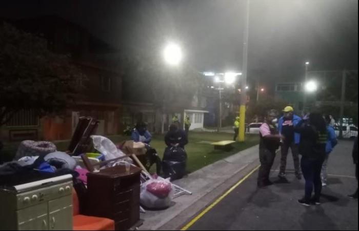 La denuncia la está atendiendo la Alcaldía de Bogotá. Foto: Twitter
