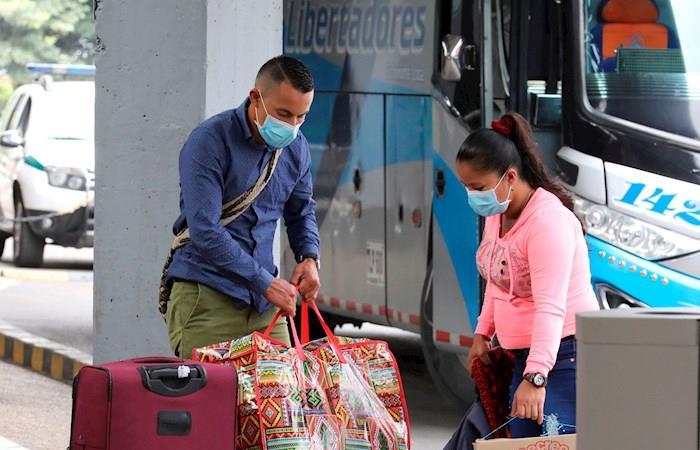 Contagiados muertos coronavirus Colombia 30 marzo 2020