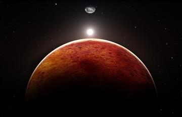 Meteoritos de Marte sugieren que este planeta no tenía un océano de Magma
