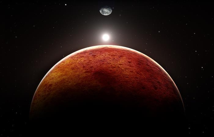 Astronomía: meteoritos Marte
