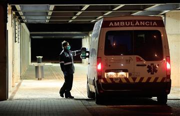 España registró 849 fallecidos en un solo día por el coronavirus