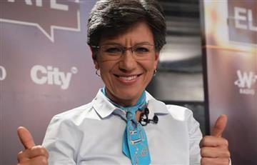 Claudia López afirmó que la responsabilidad de la población migrante es del Gobierno Nacional
