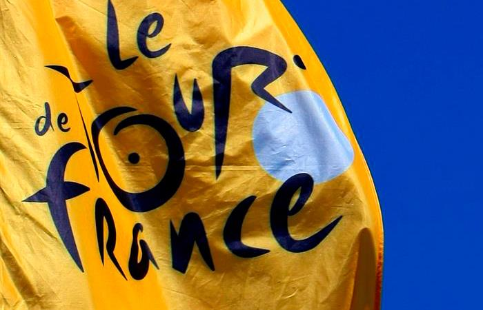 El Tour de Francia es de las pocas competencias que no se han cancelado. Foto: EFE
