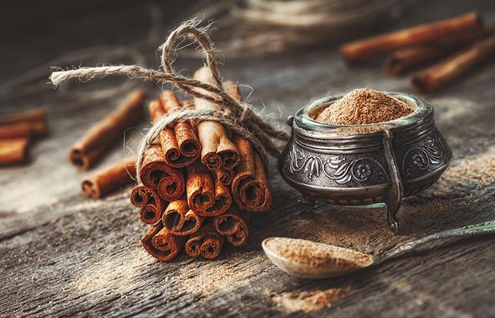 Propiedades benéficas de la canela. Foto: Shutterstock