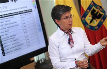 """Claudia López a Duque: """"Pedí ayuda y salí a deberle"""""""