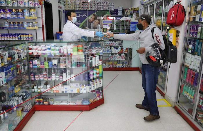 El primer caso de coronavirus en Colombia se reportó el 6 de marzo. Foto: EFE