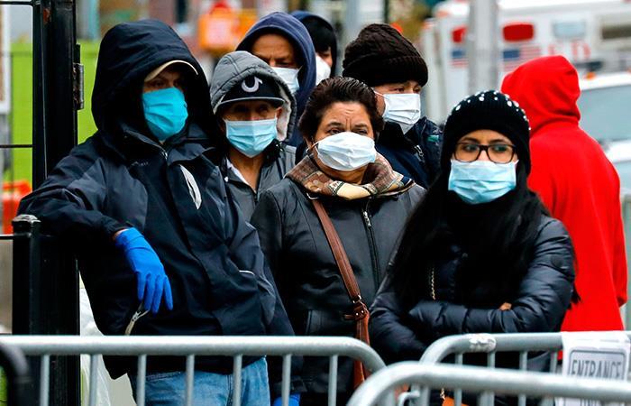 Nueva York es la ciudad estadounidense más afectada por el COVID-19. Foto: EFE
