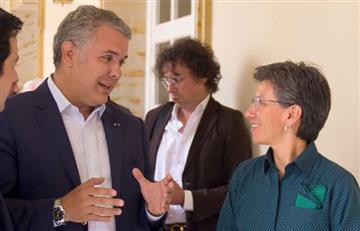 """Iván Duque lanza """"pullas"""" a Claudia López por situación de los venezolanos en Colombia"""