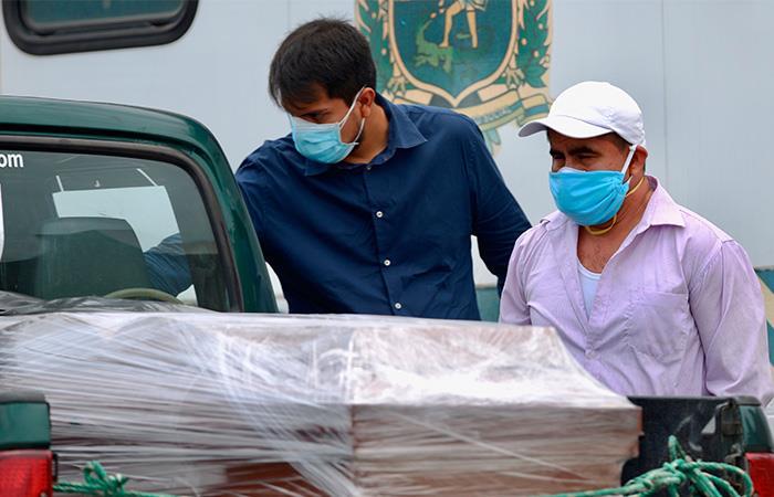 Se habla de que Ecuador ya llevaría miles de muertos por el coronavirus. Foto: EFE