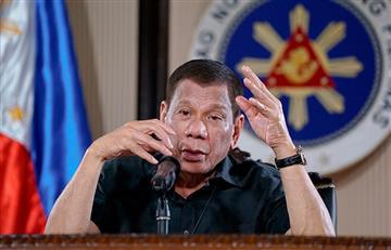 Presidente de Filipinas ordena disparar a quienes no cumplan la cuarentena