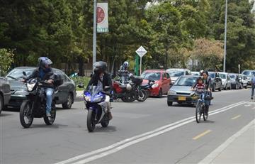 Denuncian éxodo de vehículos desde Bogotá en plena 'cuarentena'