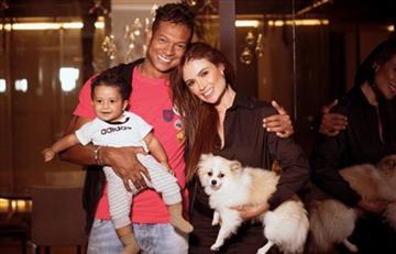 Fredy Guarín habría confirmado ruptura con Sara Uribe borrando fotos que tenía con ella