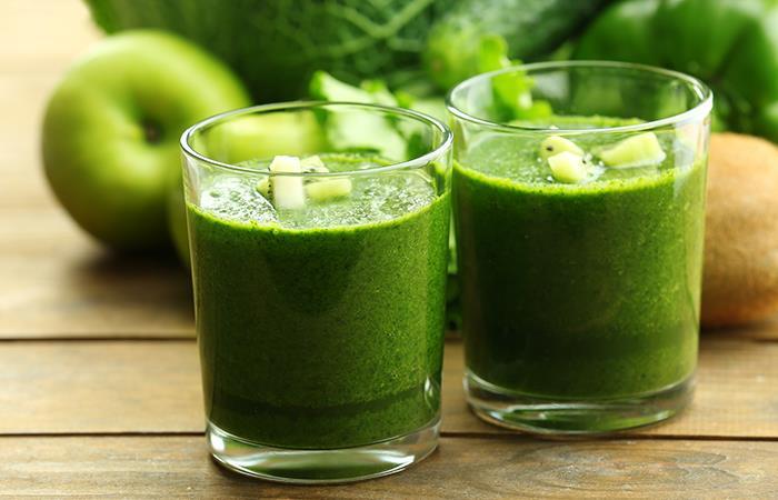 Jugo verde bajar peso y desintoxicar organismo