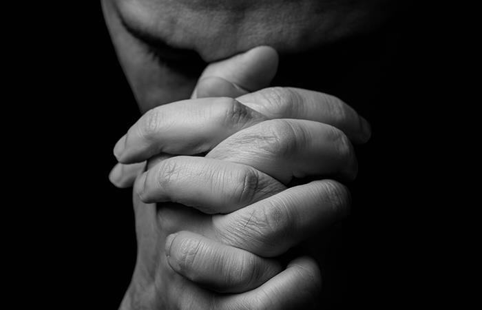 Oración para la serenidad. Foto: Shutterstock