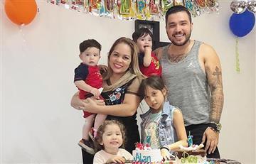 Peculiar 'regaño' de Sandra Barrios a su hijo es cuestionado en redes sociales