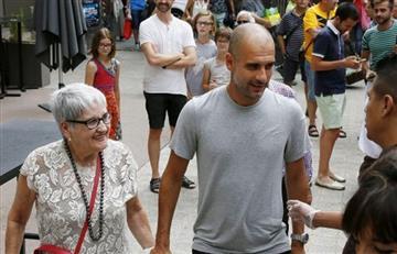 El fútbol está de luto: Madre de Pep Guardiola murió víctima del COVID-19