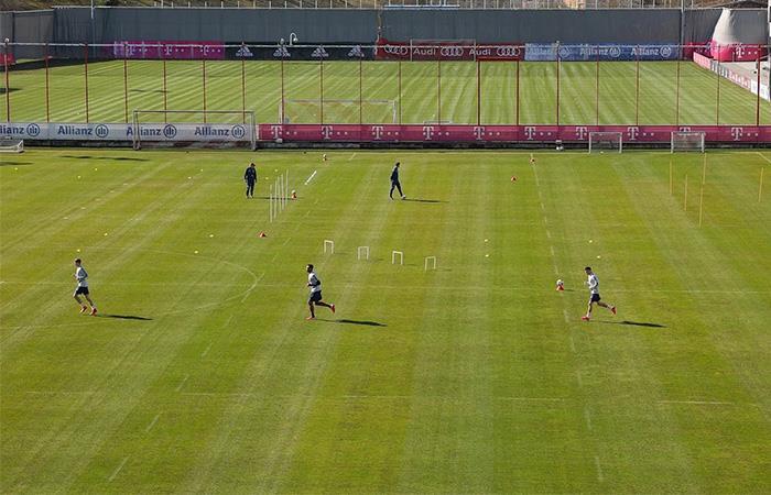Bayern Munich volvió a los entrenamientos pese a la pandemia de COVID-19