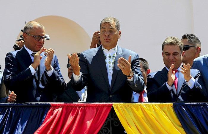 Rafael Correa condena corrupción Ecuador