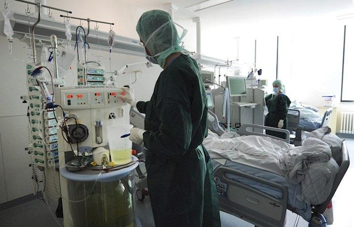 Hospital Alemania plasma curados coronavirus