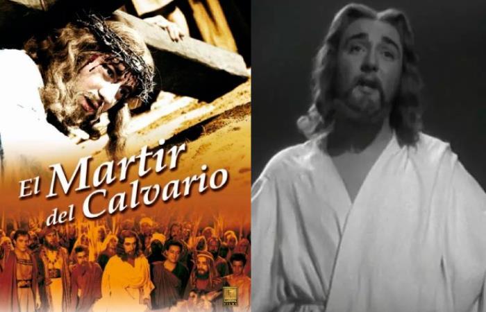 El actor Enrique Rambal personificó a Jesús. Foto: Twitter