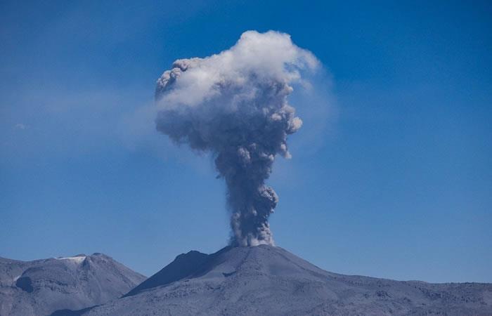 La erupción del volcán causó conmoción en redes. Foto: Pixabay