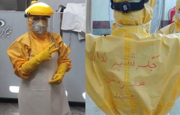 Lavar los cuerpos de los fallecidos hace parte del rito islámico 'Ghosl-e Meyyet'. Foto: Twitter