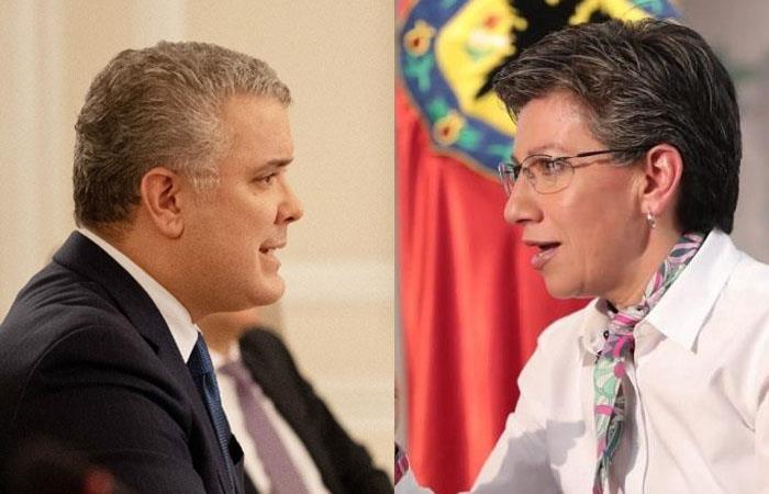 La disputa entre ambos mandatarios ha sido interminable en el último mes. Foto: Twitter
