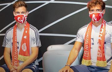 Bayern Munich lanzó una línea de tapabocas con fines solidarios