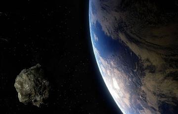 Así se pudo visualizar el paso del asteroide este 29 de abril
