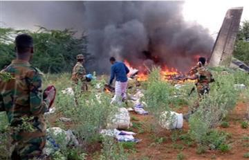 Avión con material contra el coronavirus se estrelló en Somalia