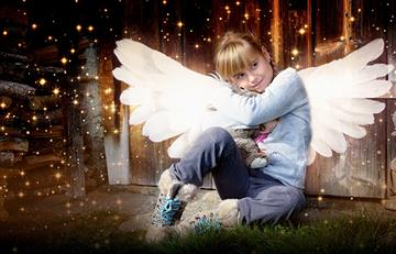 ¿Sabías que hay ángeles que protegen a los niños?