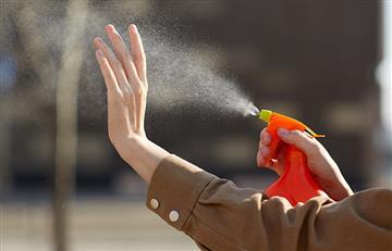 Aprende a desinfectar tus manos con cloro
