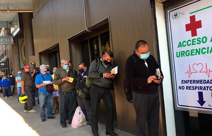 México considera que ha aplanado la curva de contagios del COVID-19. Foto: EFE