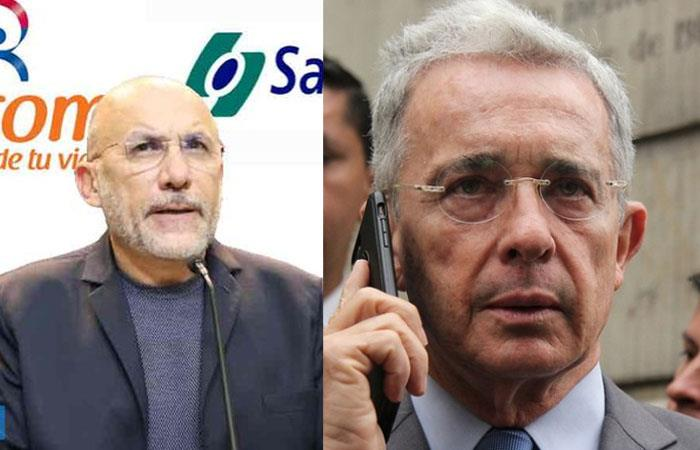 Barreras y Uribe habían discutido fuertemente en Twitter. Foto: Twitter