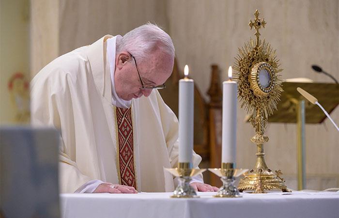 El papa Francisco también se refirió a los migrantes. Foto: EFE