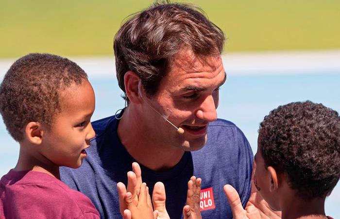 Roger Federer, tenista suizo,. Foto: EFE