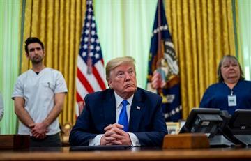 ¿Donald Trump se contagió de coronavirus?