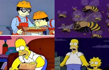 Los Simpson también predijeron la invasión de peligrosos avispones gigantes