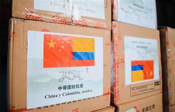 China y Corea del Sur entregaron ayudas a Colombia para combatir el COVID-19
