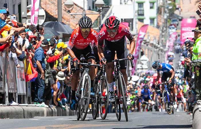 Gobierno de Colombia autoriza entrenamientos ciclistas Nairo Quintana Egan Bernal Rigoberto Urán