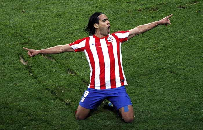 Falcao García es uno de los ídolos del Atlético de Madrid. Foto: Twitter