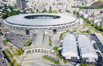 Así se ve el hospital instalado en el Estadio Maracaná