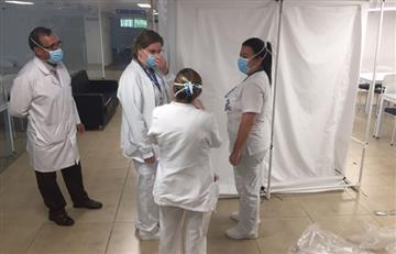 Diseñan cubículos de desinfección en Colombia