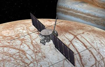 'Europa'; la luna de Júpiter tiene agua