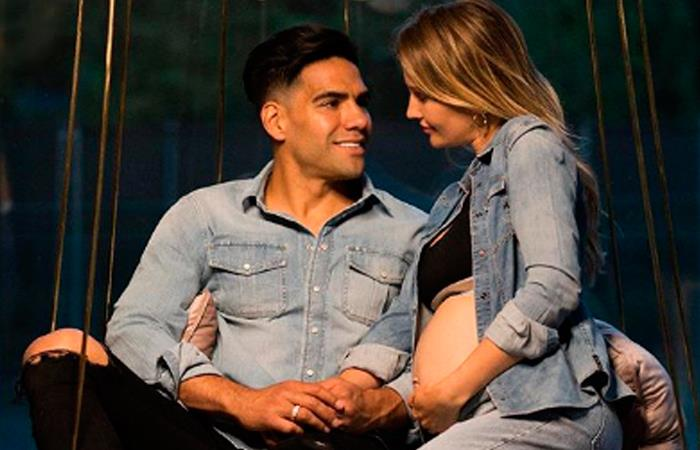 Falcao García junto a su esposa Lorelei Tarón. Foto: Instagram