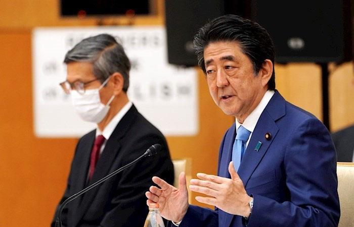 Shinzo Abe, primer ministro de Japón, se ha mostrado preocupado por la situación sanitaria en su país. (). Foto: EFE