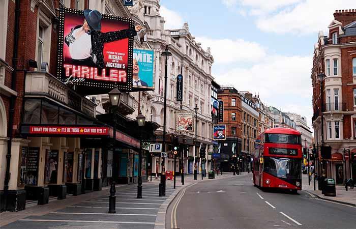 Inglaterra empezó a retornar a la normalidad,. Foto: EFE